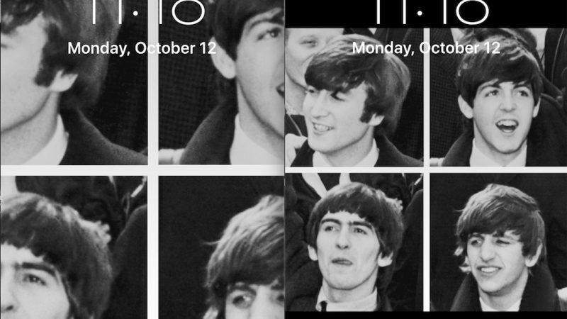 Arrêtez le redimensionnement du fond d'écran zoomé sur iPhone et iPad avec une solution de contournement