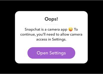 Comment autoriser l'accès de la caméra à Snapchat dans iOS 13 sur iPhone