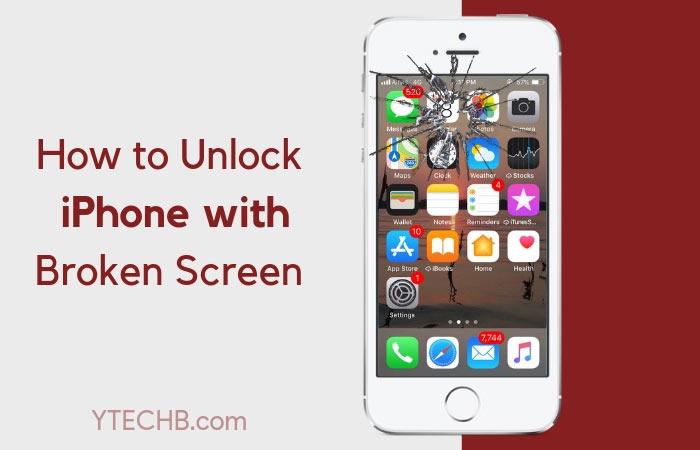 Comment débloquer un iPhone avec un écran qui ne répond pas / est cassé [Step by Step]