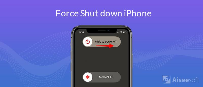 Comment forcer l'arrêt de l'iPhone (même l'iPhone 11 Pro)