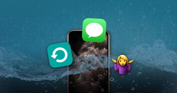 Comment récupérer les données d'un iPhone endommagé par l'eau  – Iphonix.fr