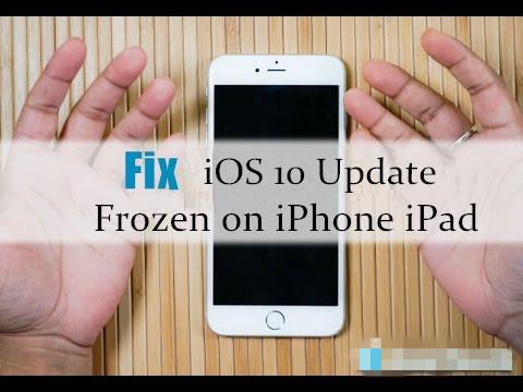 Comment réparer la mise à jour iOS 10/11 gelée sur iPhone iPad