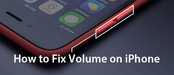 Comment réparer le volume sur iPhone