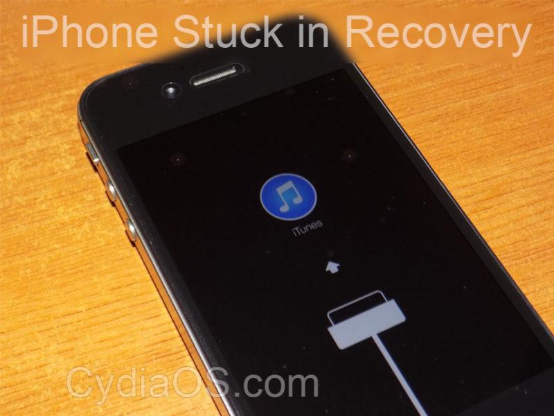 Comment réparer un iPhone 4S bloqué en mode de récupération en boucle