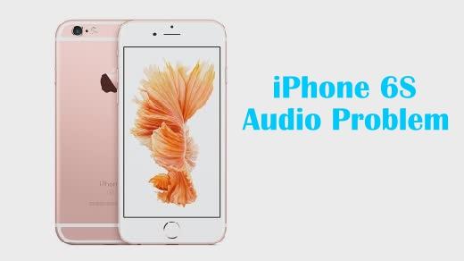 Comment résoudre le problème de l'iPhone 6S: défauts et distorsion des haut-parleurs