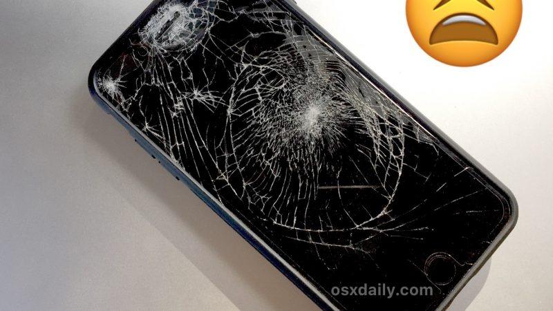 Écran iPhone cassé?  Voici comment réparer et réparer
