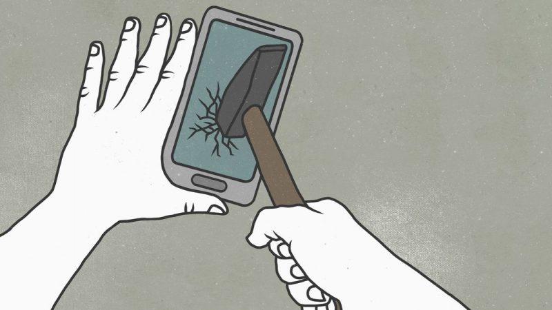 Fixer l'écran de l'iPhone |  Comment réparer un écran fissuré