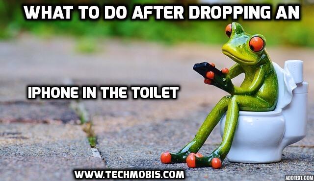 J'ai laissé tomber un iPhone dans les toilettes?  Réparer un iPhone endommagé par l'eau qui ne s'allume pas