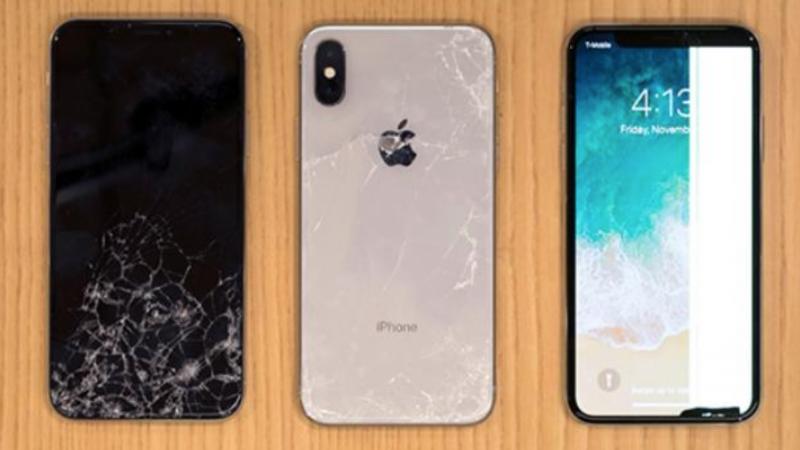 La vitre arrière de l'iPhone X est fragile et un cauchemar coûteux à réparer