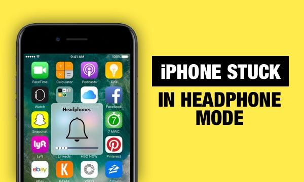 Top 9 façons de réparer l'iPhone bloqué en mode casque