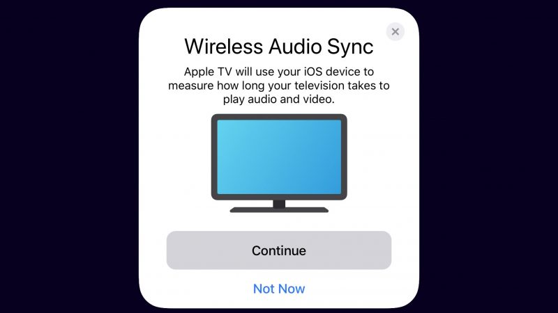 iOS 13 vous permet d'utiliser le micro de votre iPhone pour corriger le retard audio derrière le problème ennuyeux de synchronisation labiale