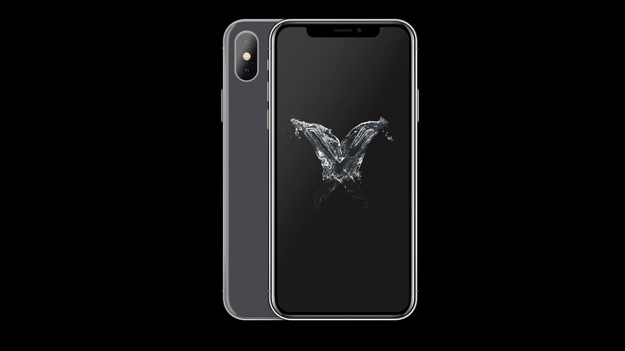 iPhone X Fix écran noir, gelé ou bloqué sur un appareil avec logo Apple