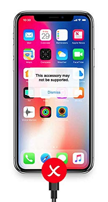 5 façons de réparer l'accessoire de chargeur iPhone non pris en charge sur iOS 12/11