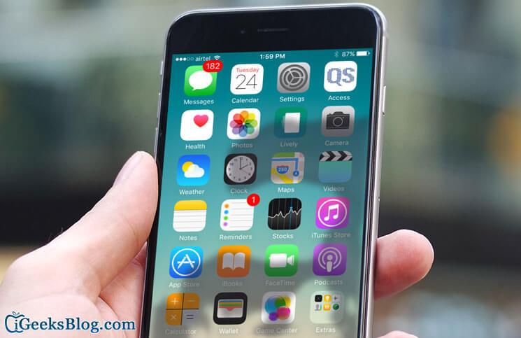 Applications iPhone et iPad gelées?  Voici quelques solutions pour résoudre le problème