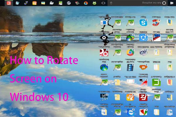 Comment faire pivoter l'écran sur Windows 10?  4 méthodes simples sont là!