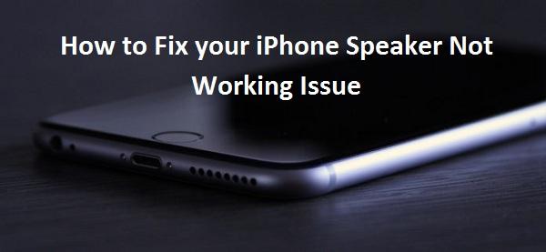 Comment réparer le problème du haut-parleur de votre iPhone