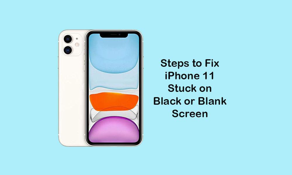 Comment réparer l'iPhone 11 bloqué sur un écran noir ou vide
