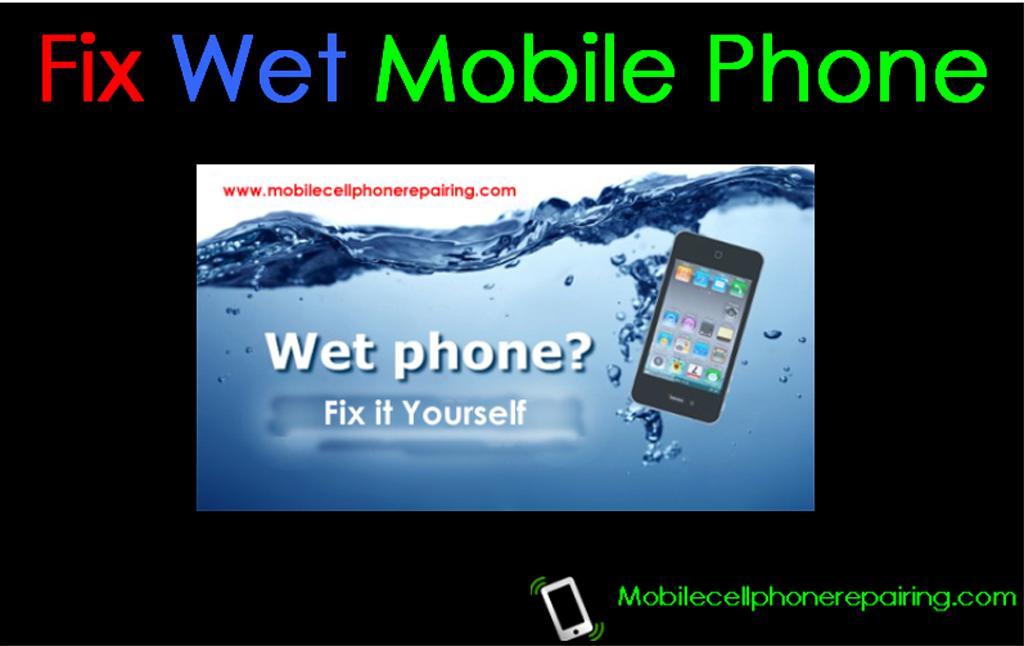 Comment réparer un téléphone portable endommagé par l'eau