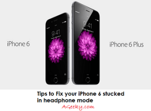 Correction de l'iPhone 6 bloqué en mode casque – AGeeky
