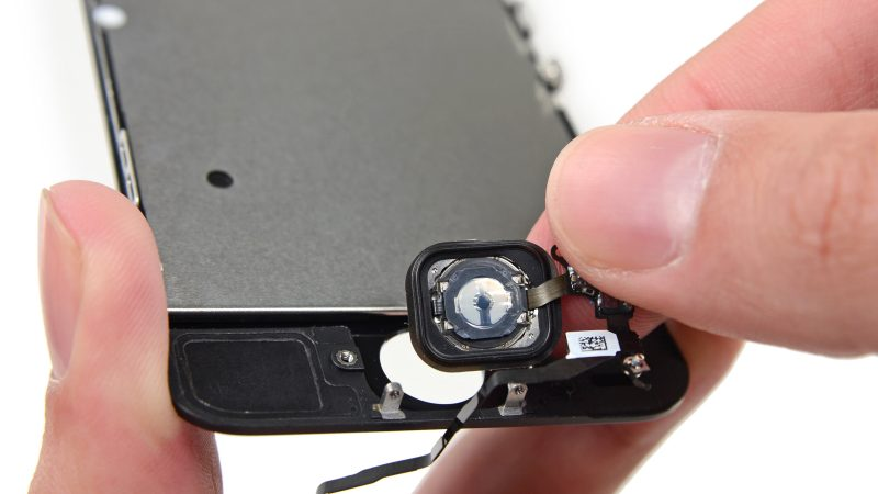 Remplacement du bouton Home du iPhone 5s