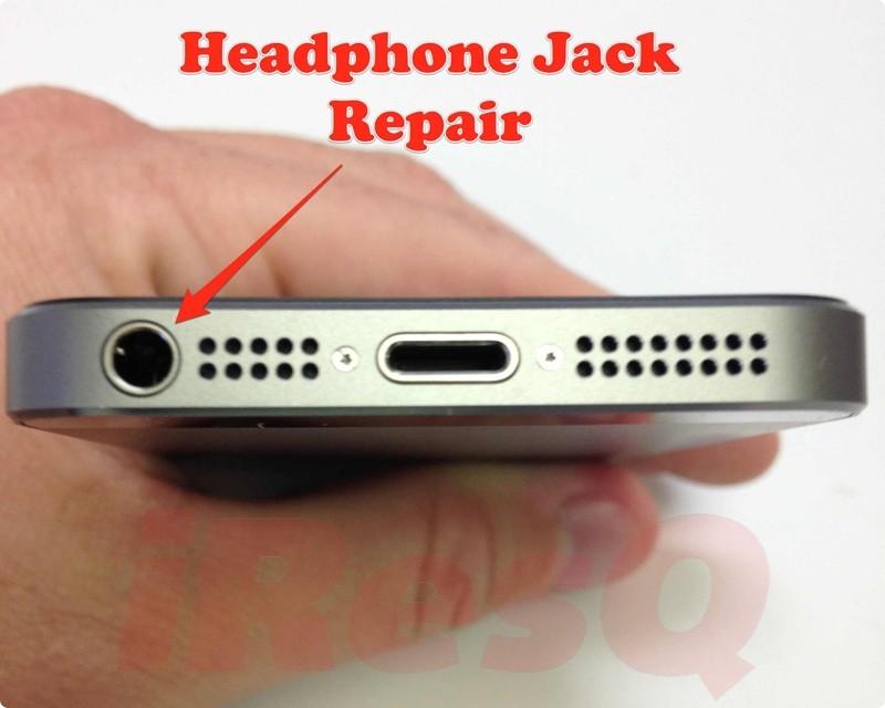 Service de réparation iPhone 5S pour prise casque ne fonctionne pas