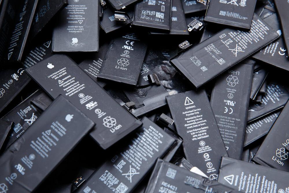 lots de batterie pour iPhone